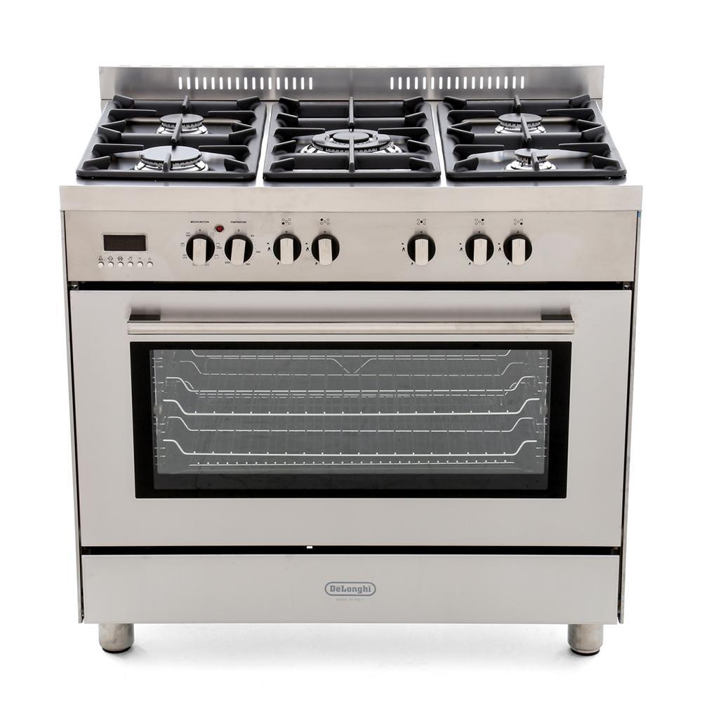 DeLonghi DSR906DF 90cm Dual Fuel Range Cooker