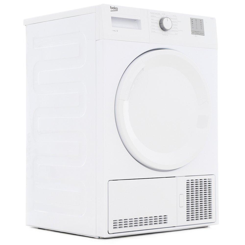 Buy Beko Dtgc8001w Condenser Dryer White Marks Electrical Washing Machine Wiring Diagram