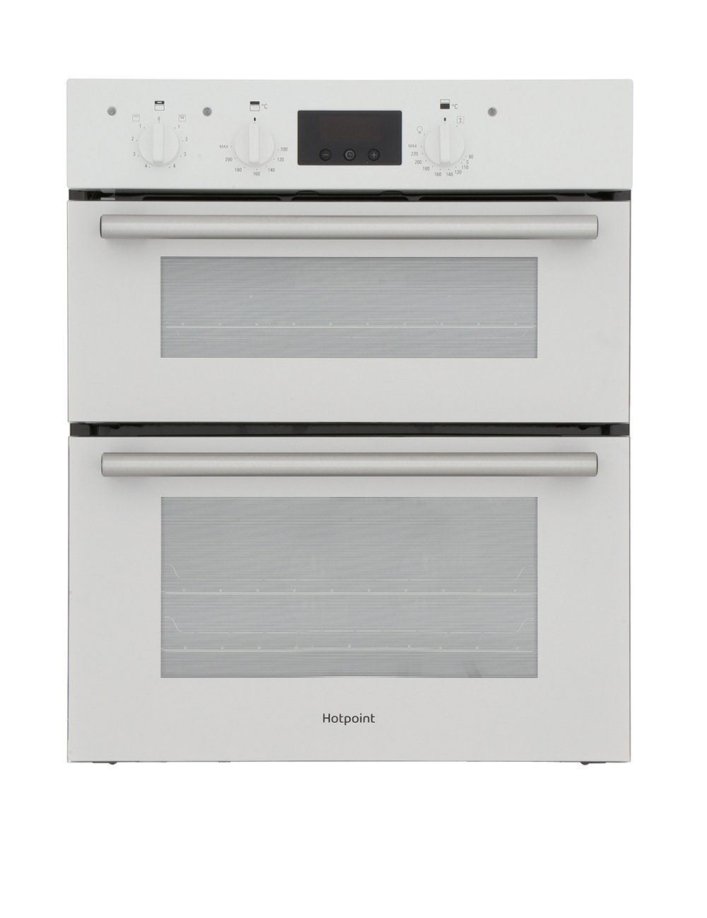 Hotpoint DU2540WH Double Built Under Electric Oven