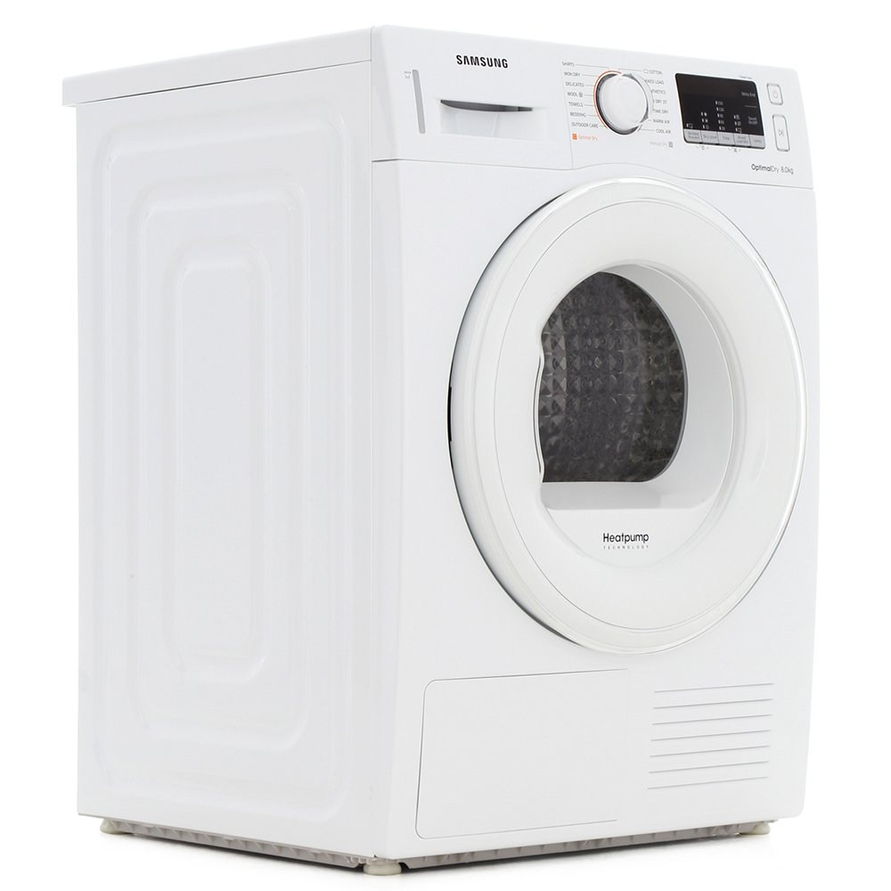 Samsung DV80M50101W 8kg Condenser Dryer with Heat Pump Technology