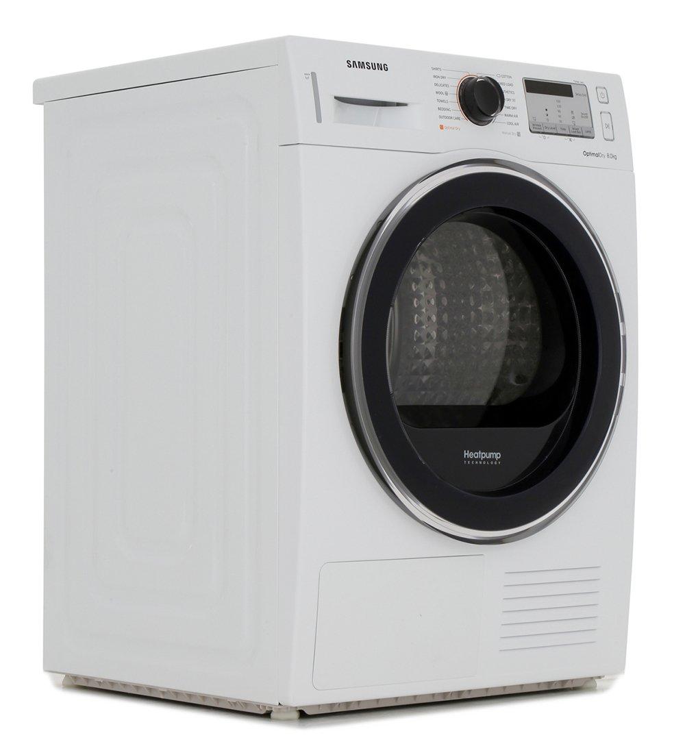 Samsung DV80M5013QW Condenser Dryer with Heat Pump Technology