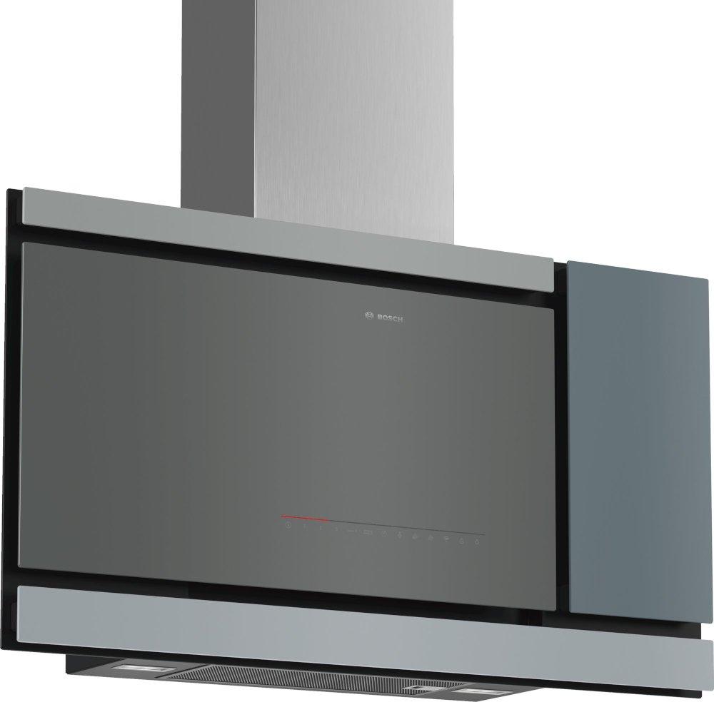 Bosch Serie 8 DWF97MS70B 90cm Chimney Hood