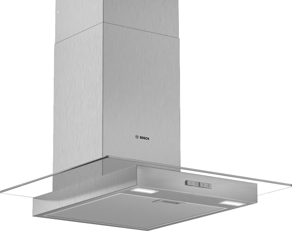 Bosch Serie 2 DWG64BC50B 60cm Chimney Hood