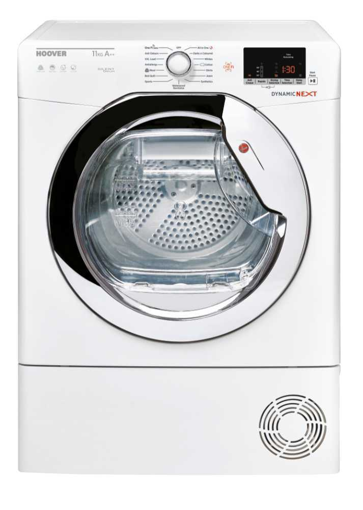 Hoover DXWH11A2TCEXM Condenser Dryer with Heat Pump Technology