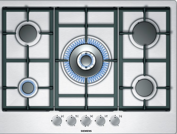 Siemens EC715RB90E 5 Burner Gas Hob