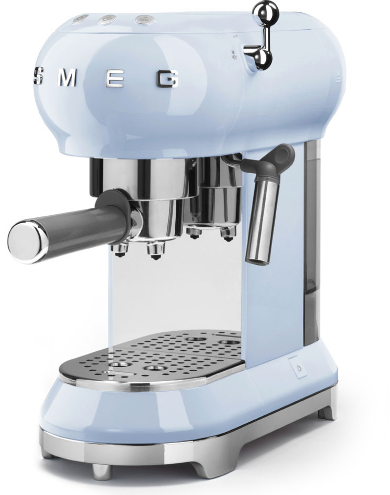 Smeg ECF01PBUK Retro Espresso Coffee Machine