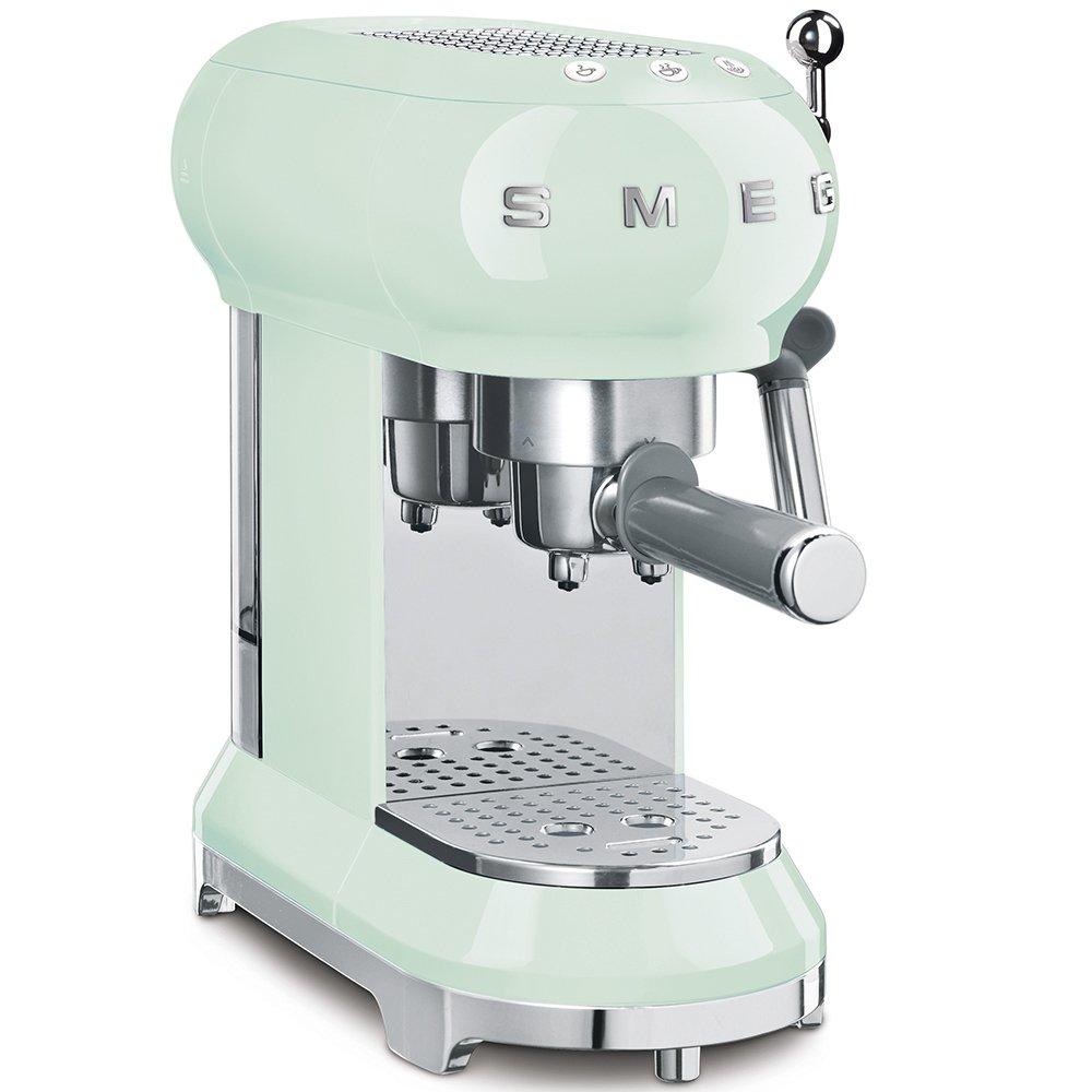 Smeg ECF01PGUK Retro Espresso Coffee Machine