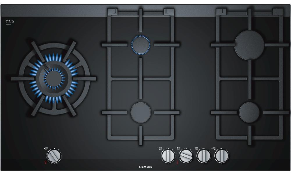 Siemens ER9A6SD70 5 Burner Gas Hob