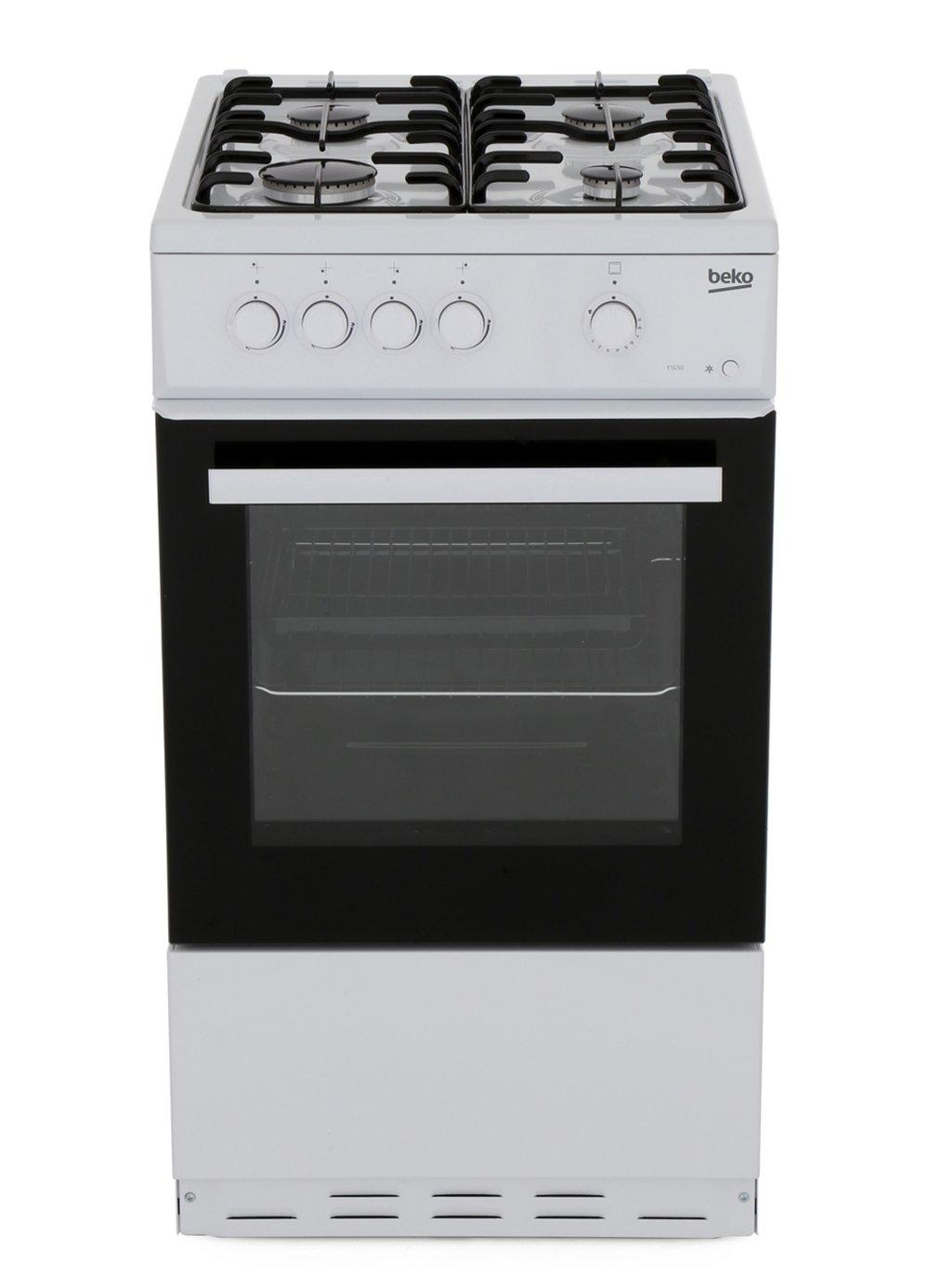 Beko ESG50W Gas Cooker with Single Oven