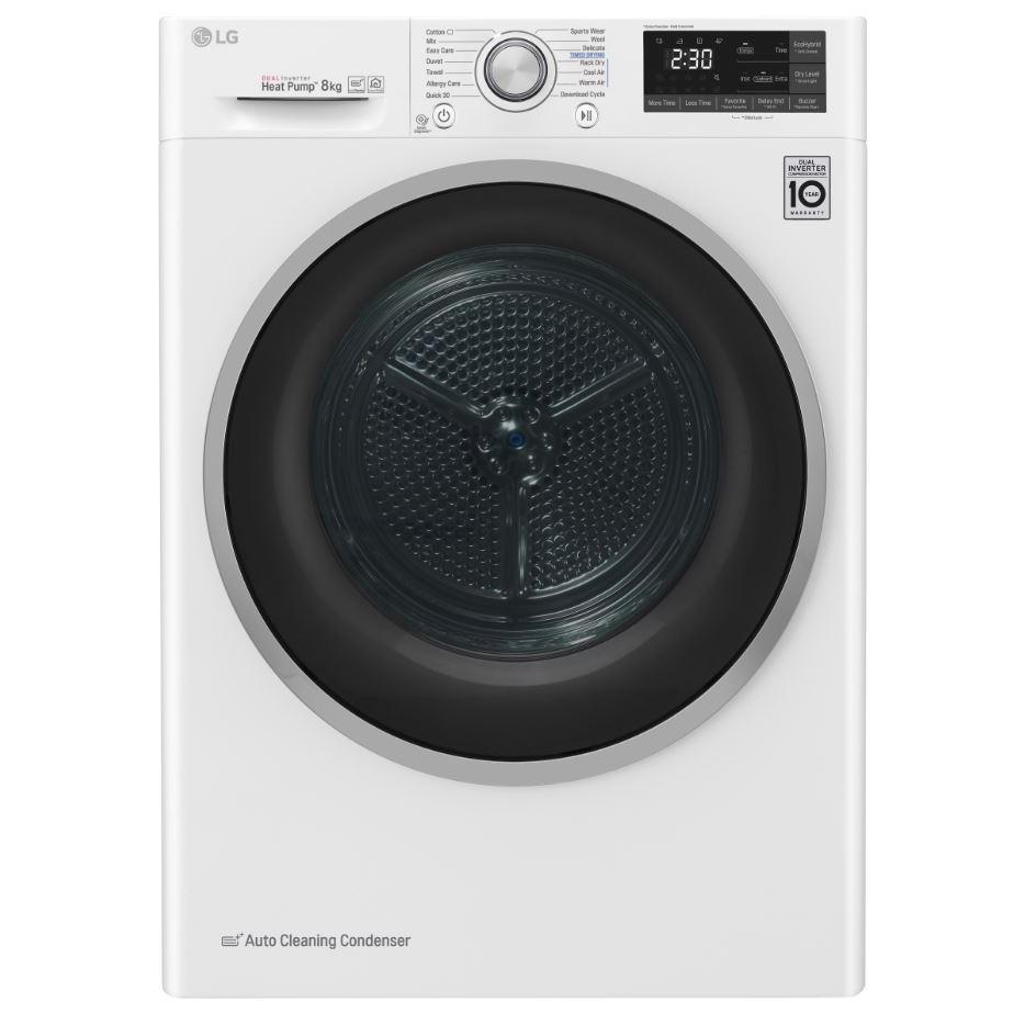 LG FDJ608W Condenser Dryer