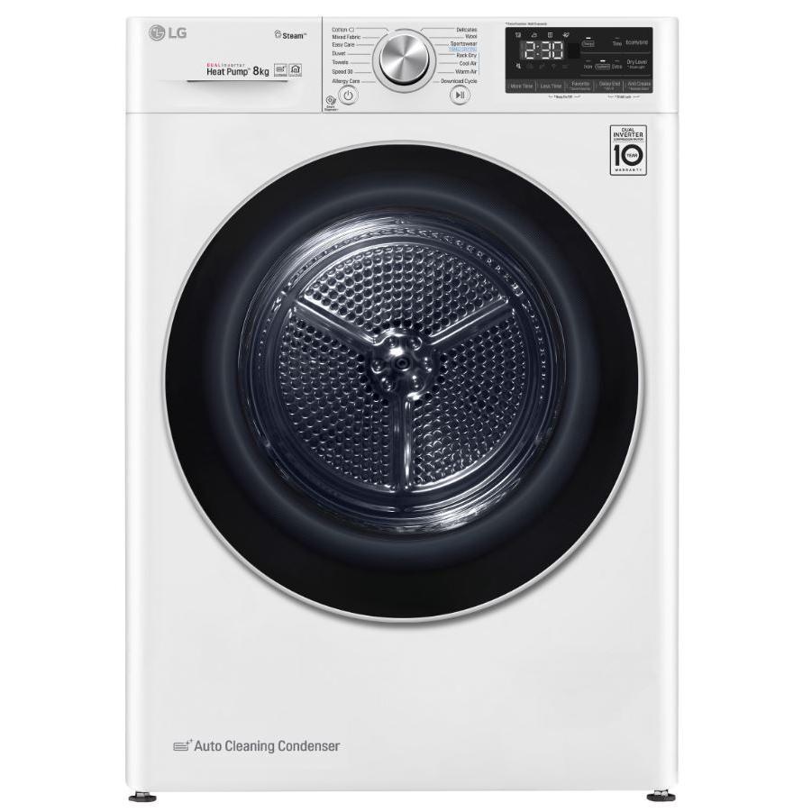LG FDV708W Condenser Dryer