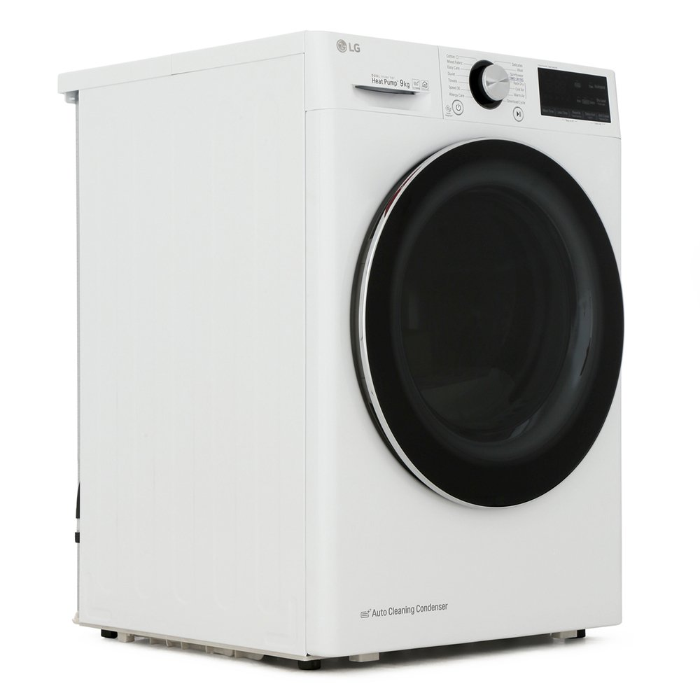 LG FDV909W Condenser Dryer with Heat Pump Technology