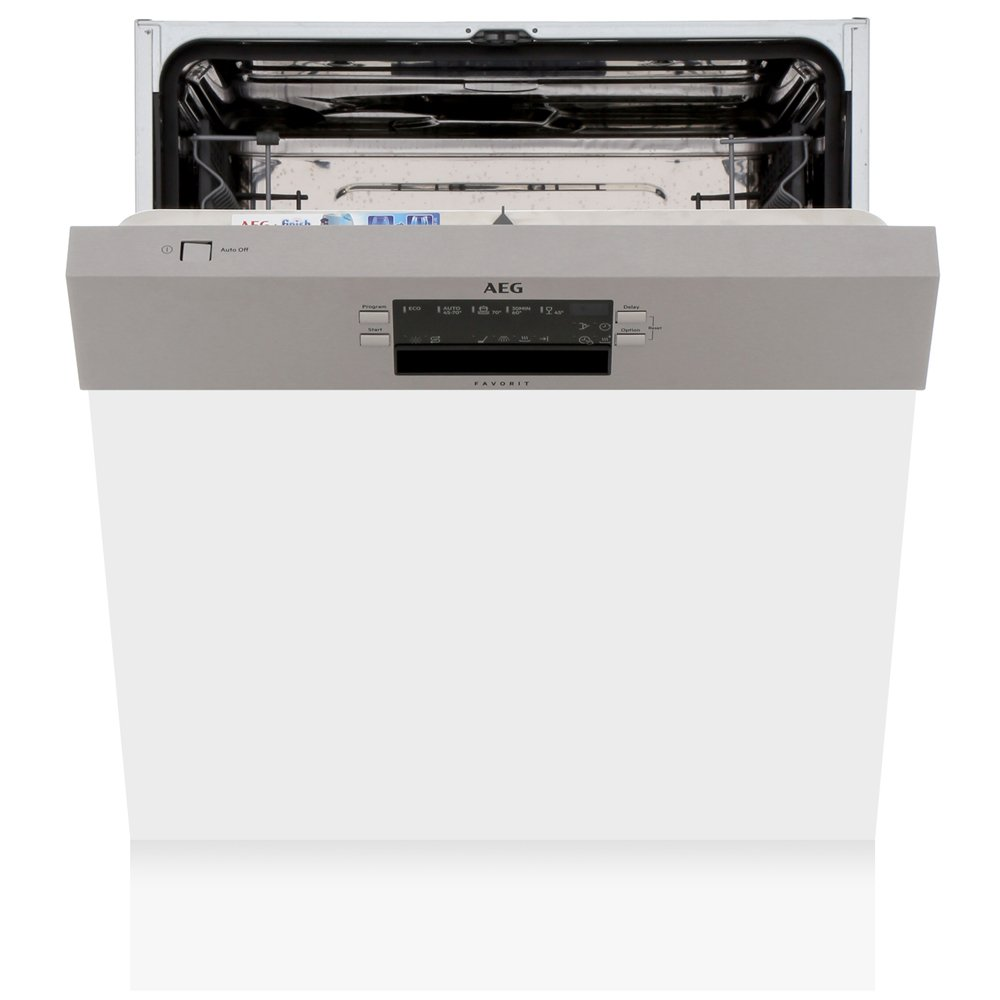 AEG FEB52600ZM Built In Semi Integrated Dishwasher with AirDry Technology