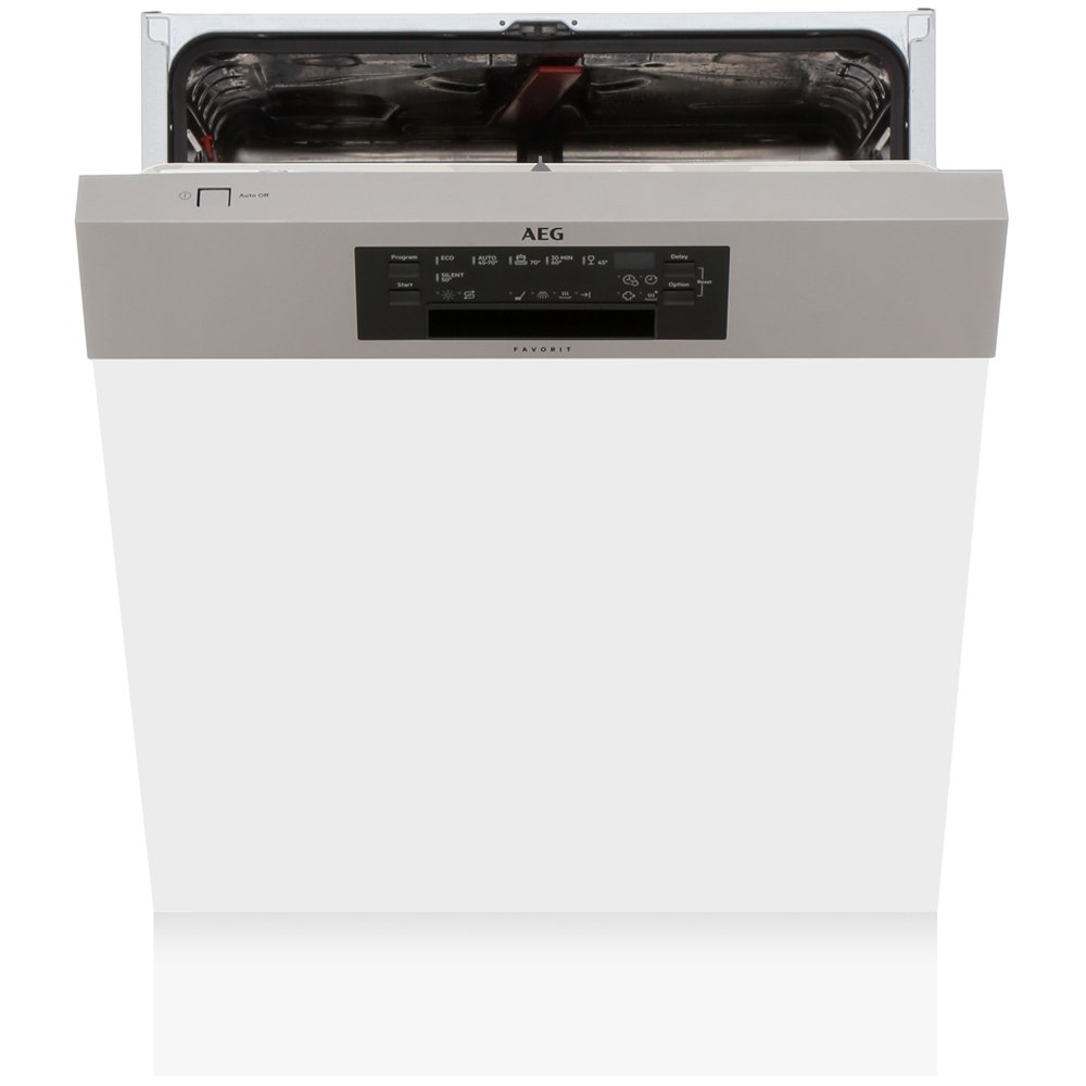 AEG FEE62600PM Built In Semi Integrated Dishwasher with AirDry Technology