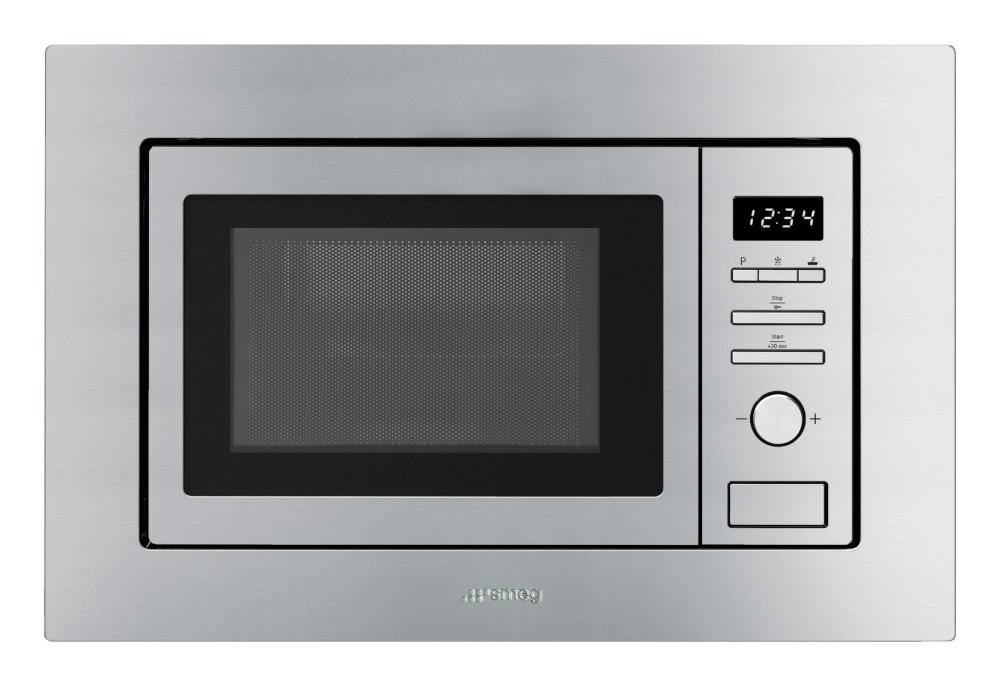Smeg Classic FMI017X Built In Microwave with Grill