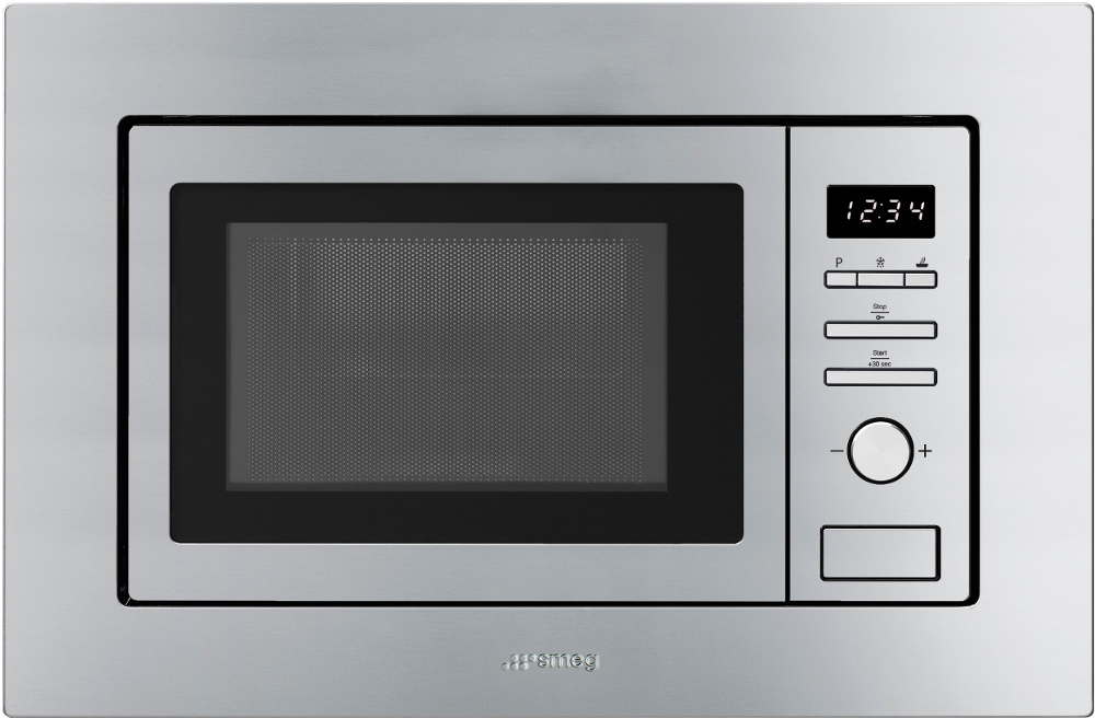 Smeg FMI020X Built In Microwave with Grill