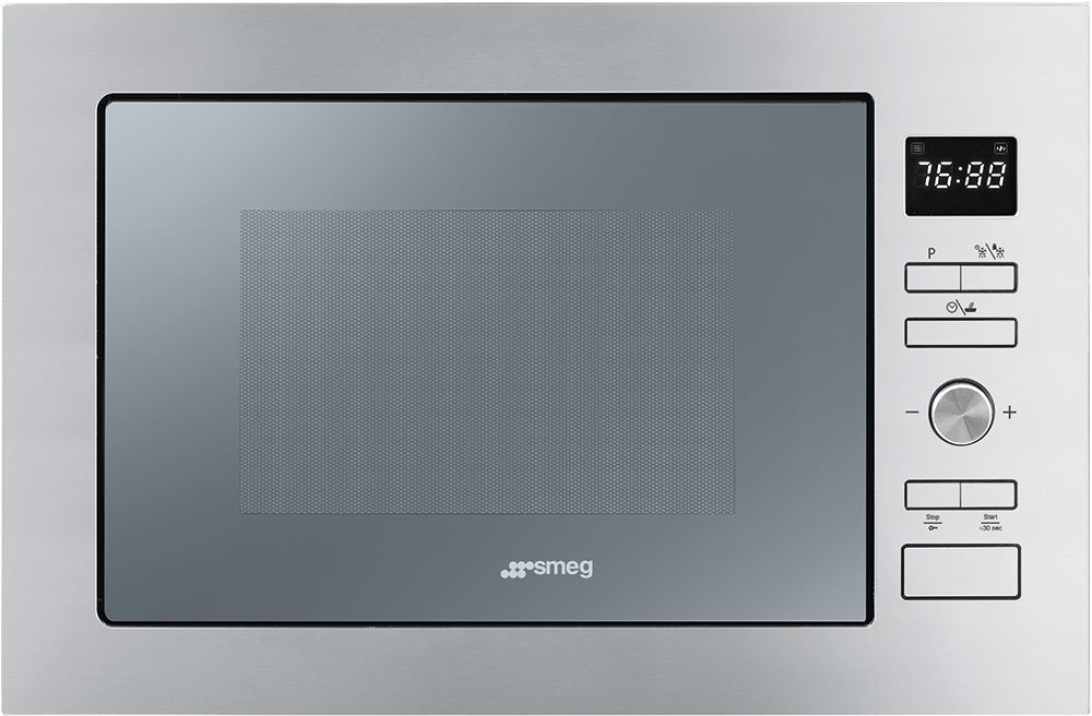 Smeg Cucina FMI425S Built In Microwave with Grill