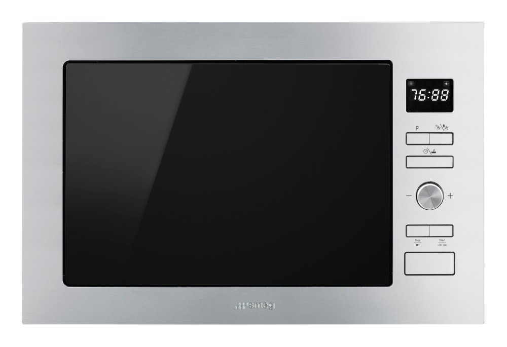 Smeg Cucina FMI425X Built In Microwave with Grill