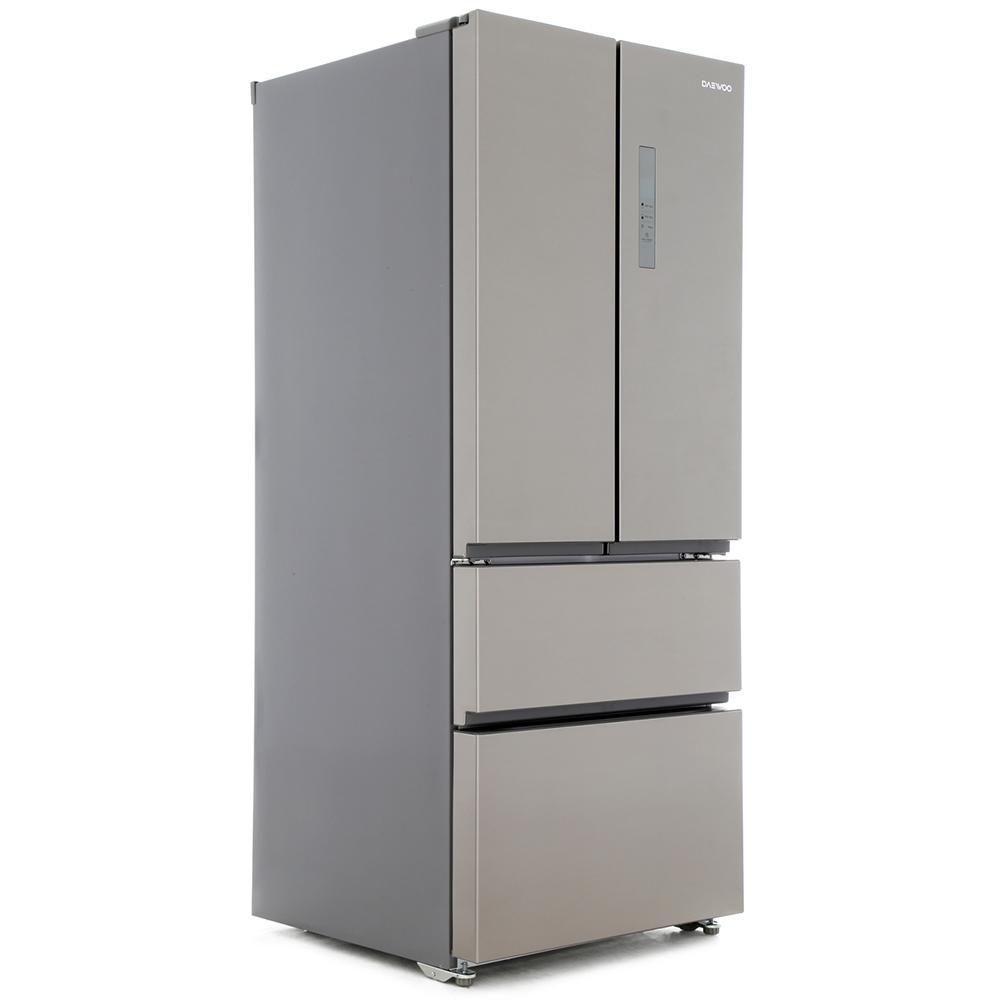 Buy Daewoo FRAM40F3S American Fridge Freezer - Stainless Steel ...