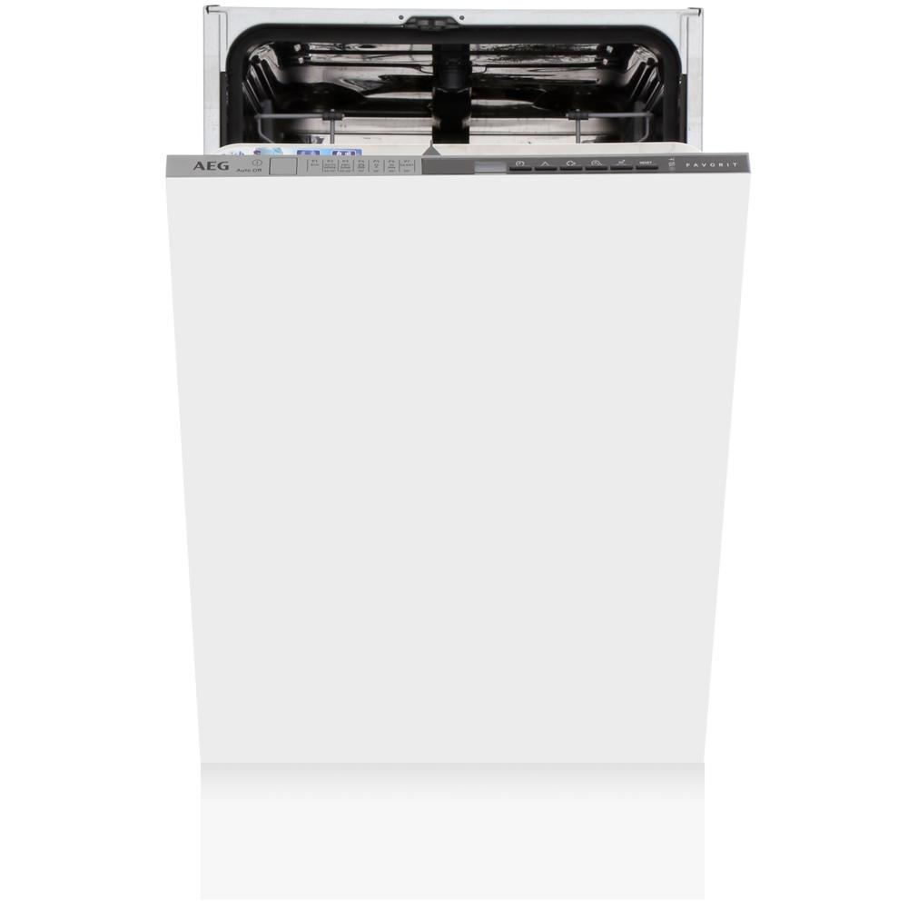 AEG FSS63400P Built In Fully Integrated Slimline Dishwasher with AirDry Technology