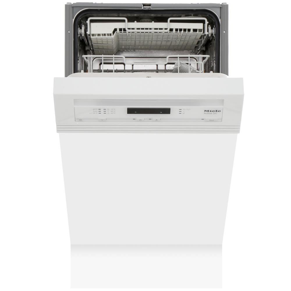 Miele G4620SCi Brilliant White Built In Semi Int. Slimline Dishwasher
