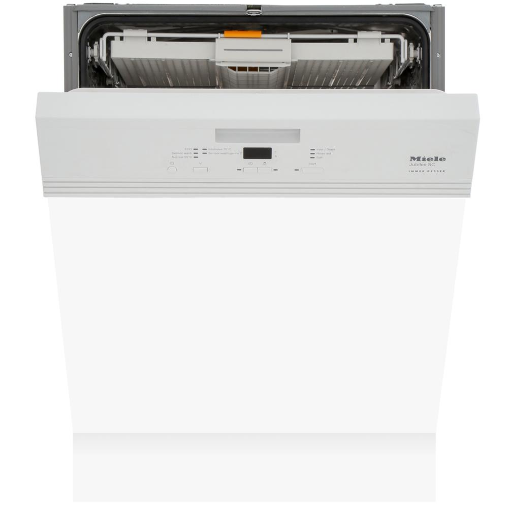 Miele G4940SCi Jubilee White Built In Semi Integrated Dishwasher