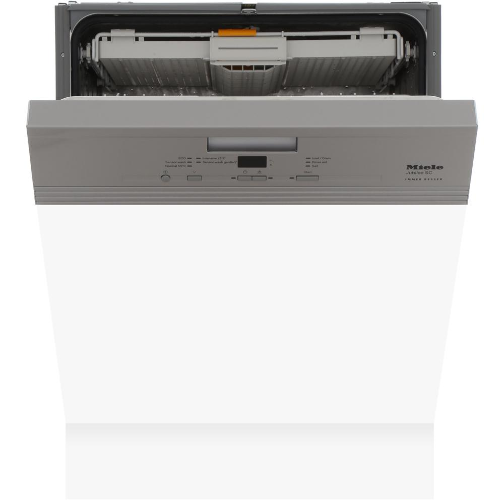 Miele G4940SCi Jubilee Clean Steel Built In Semi Integrated Dishwasher