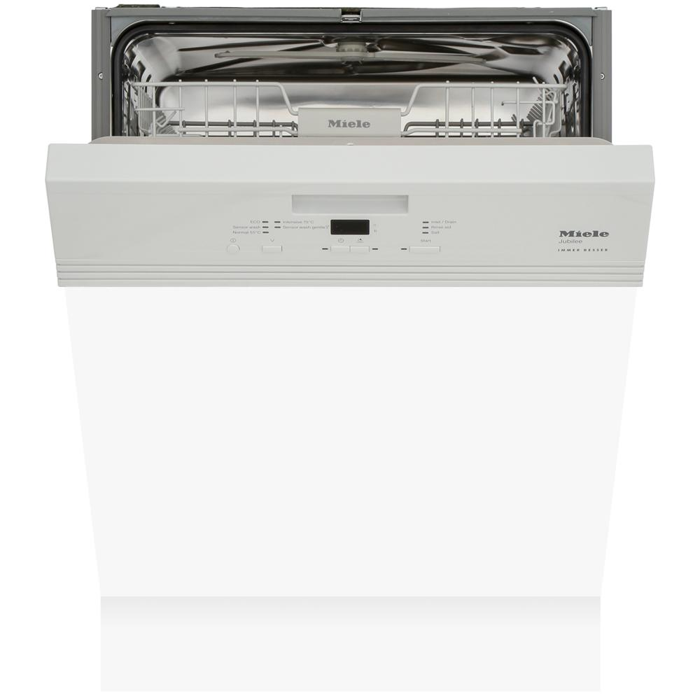 Miele G4940i Jubilee White Built In Semi Integrated Dishwasher
