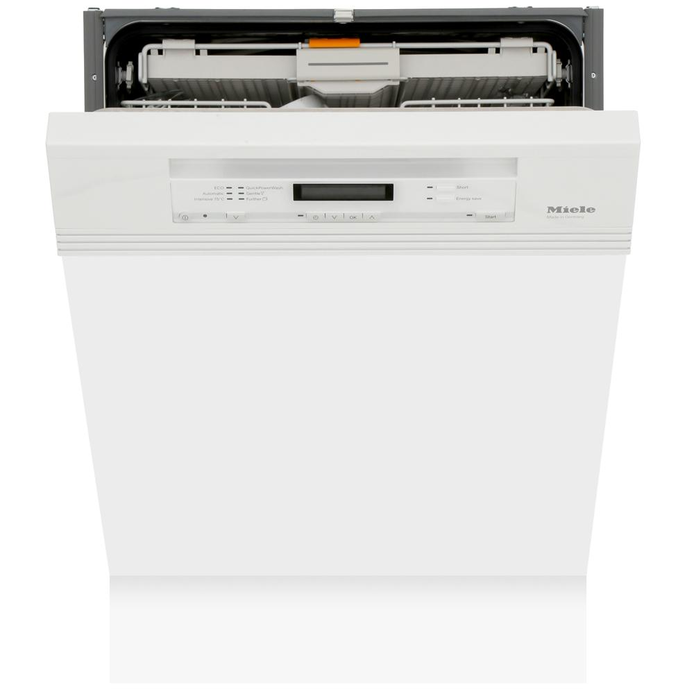 Miele G6730Sci Brilliant White Built In Semi Integrated Dishwasher