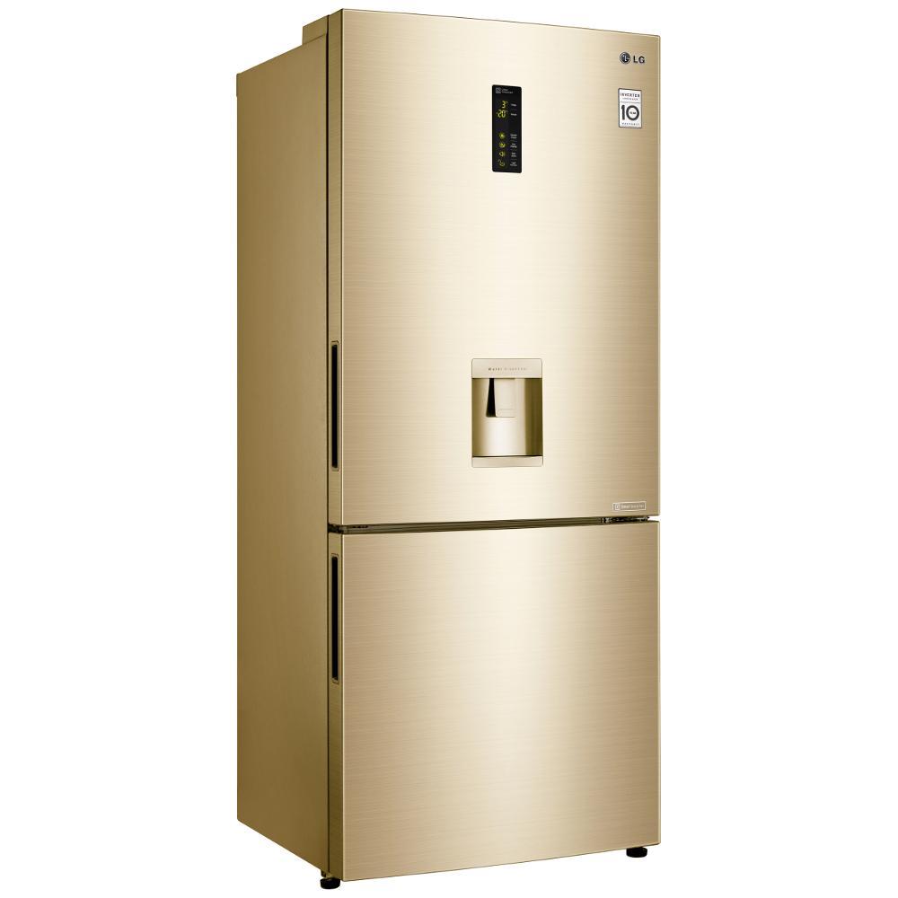 Buy LG GBF548GVDZH Fridge Freezer - Gold | Marks Electrical
