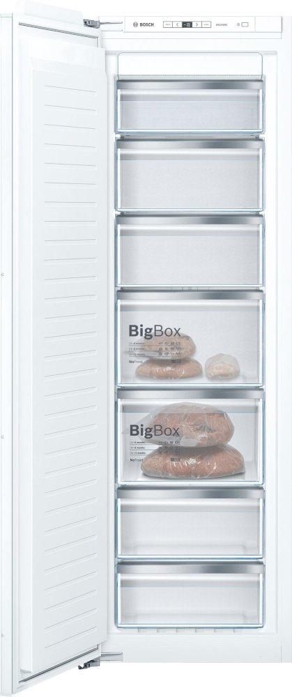 Bosch Serie 6 GIN81AEF0G Frost Free Built In Freezer