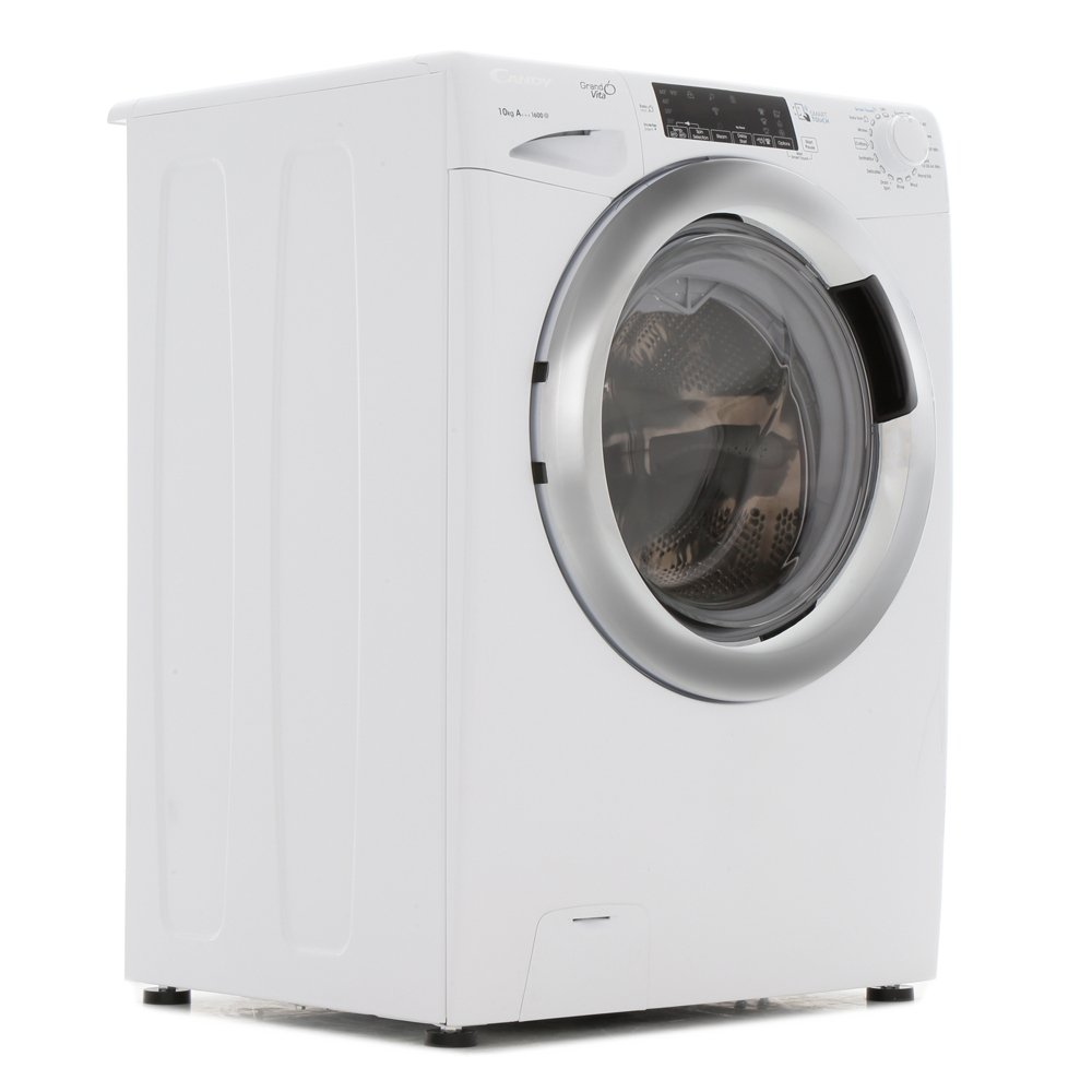 Buy Candy Gvs1610thc3 Washing Machine White With A Chrome Door Rim
