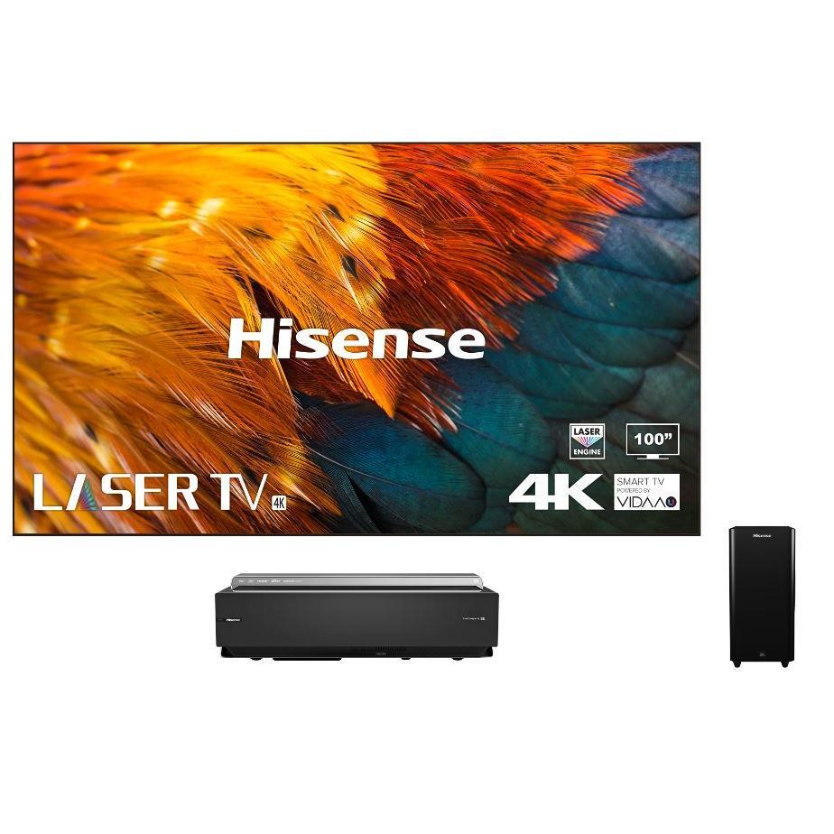 "Hisense H100LDAUK 100"" Laser Television Including Screen"