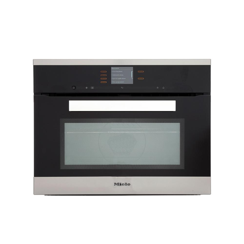Miele Built In Microwave Combination Oven: Buy Miele PureLine H6401BM Obsidian Black Built In