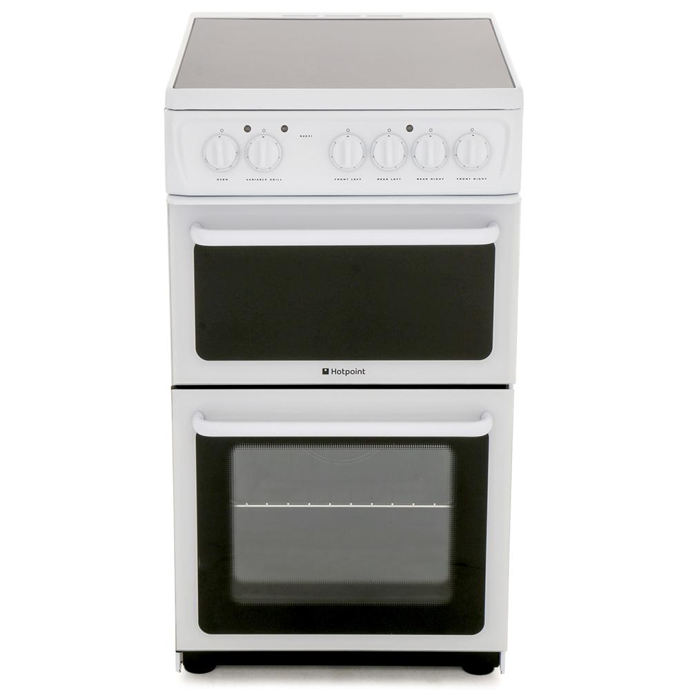 Hotpoint HAE51PS Ceramic  Electric Cooker Separate Grill
