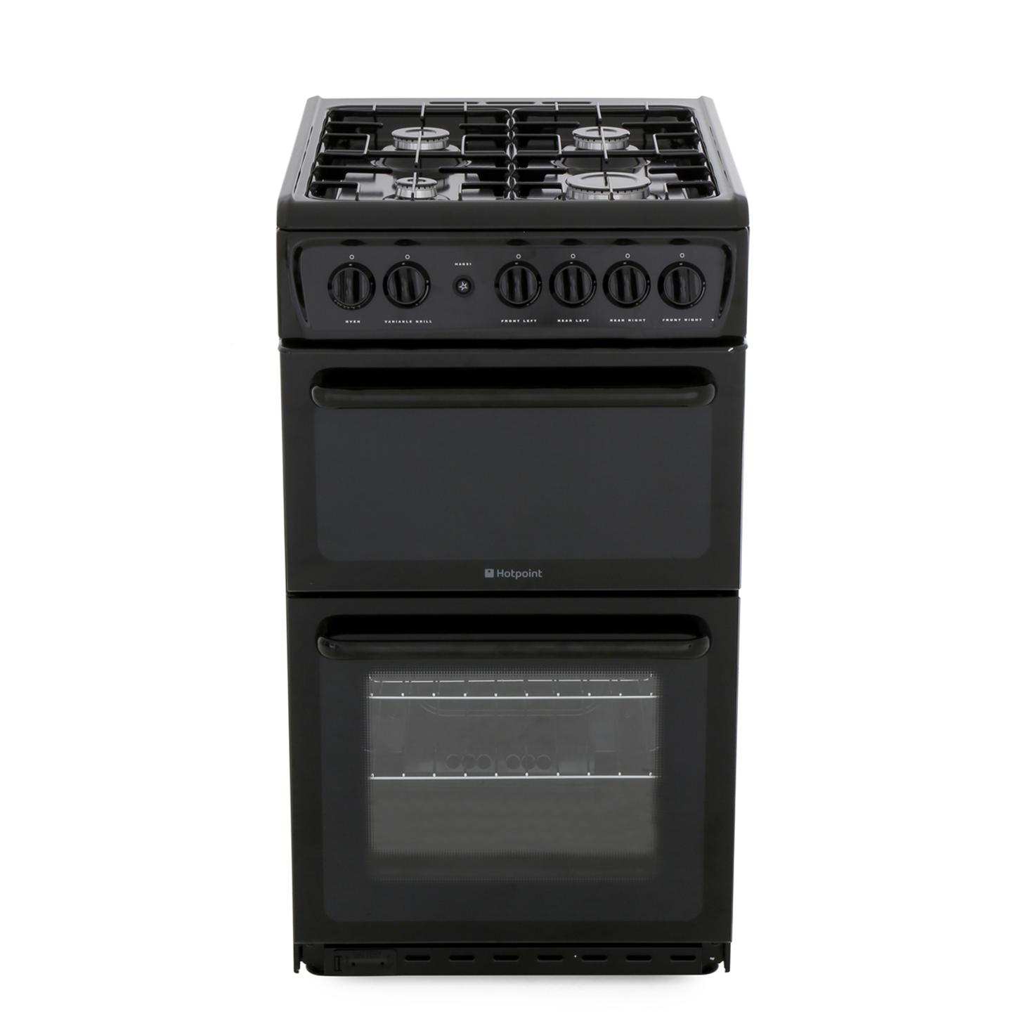 Hotpoint HAG51K Gas Cooker Separate Grill