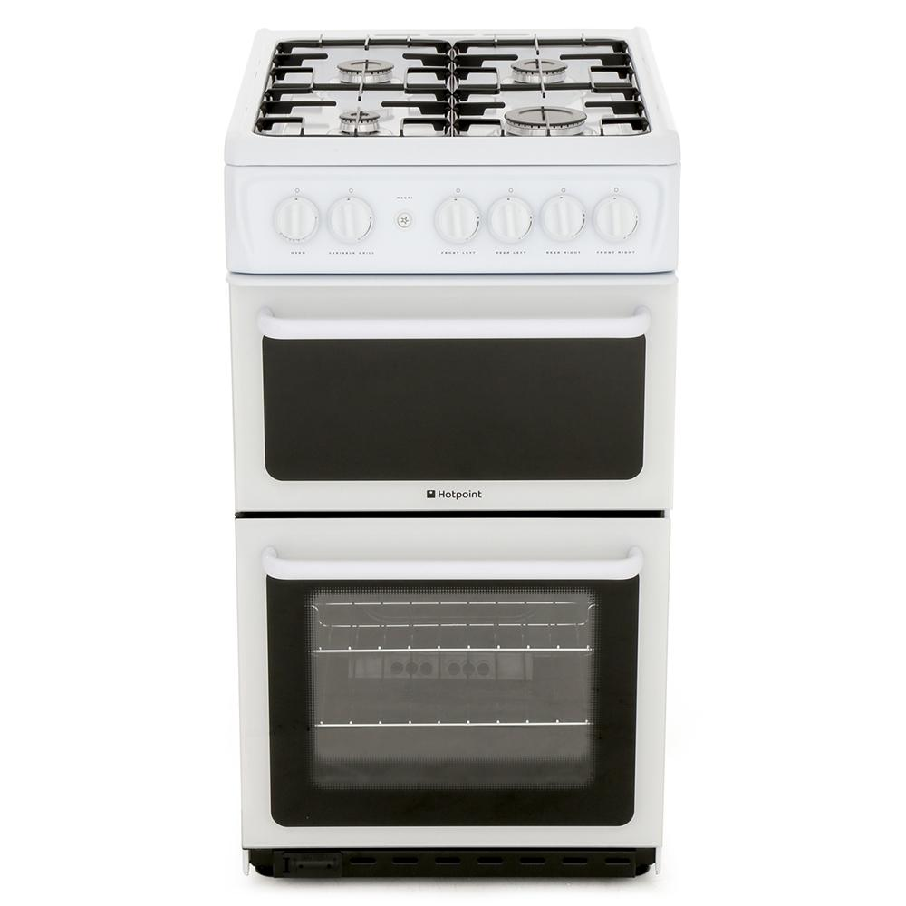 Hotpoint HAG51P Gas Cooker Separate Grill