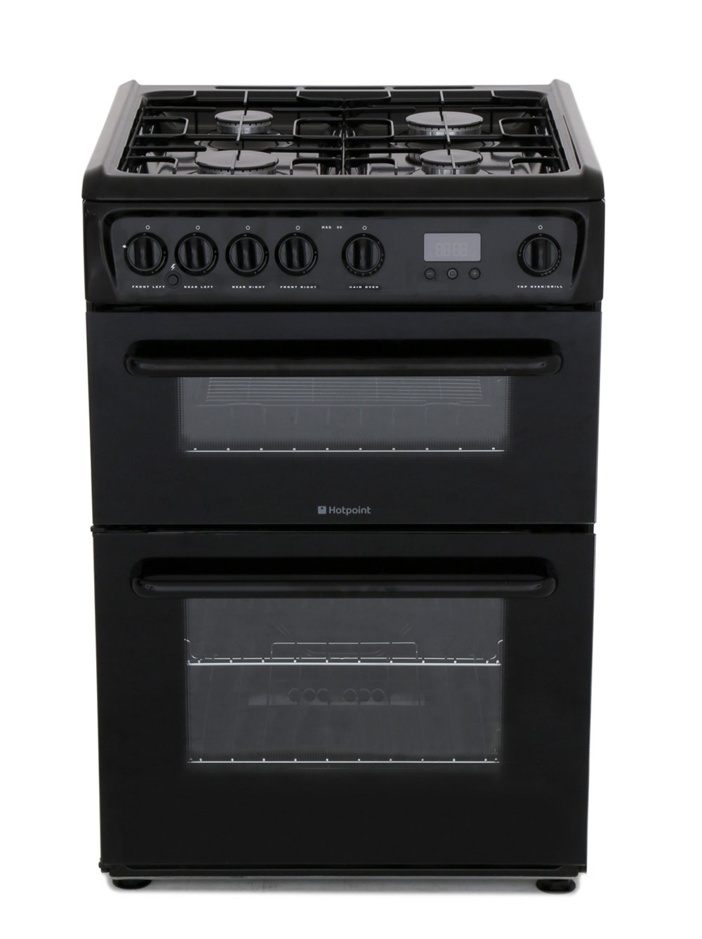Hotpoint HAG60K Gas Cooker with Double Oven