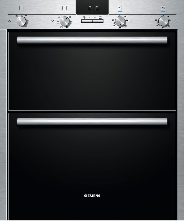 Siemens HB43NB520B Double Built Under Electric Oven