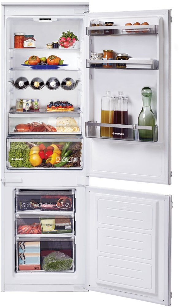 Hoover HBBS 100 UK Static Integrated Fridge Freezer