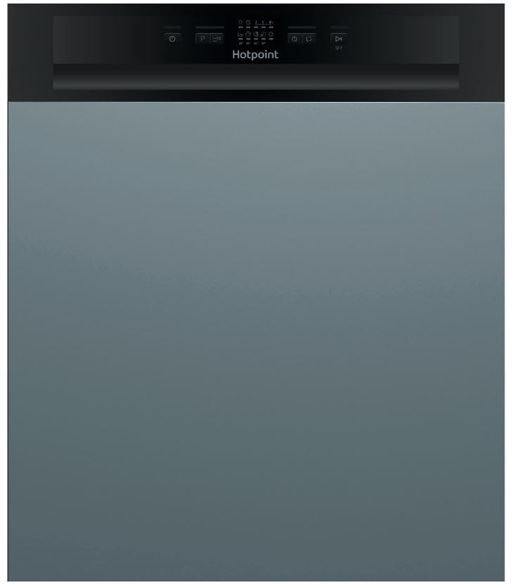 Hotpoint HBC2B19 Built In Semi Integrated Dishwasher