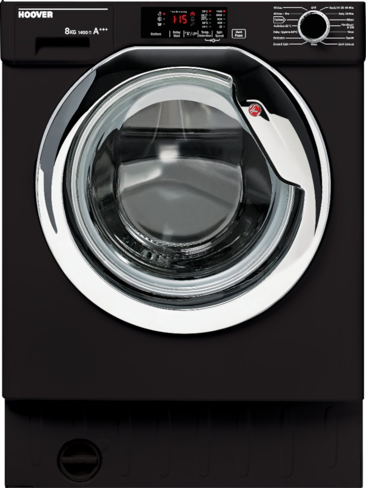 Hoover HBWM 814DCB Integrated Washing Machine