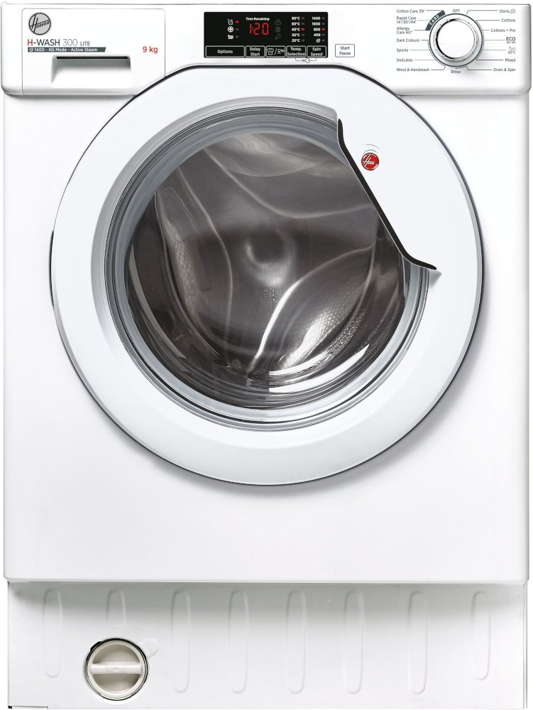 Hoover HBWS 49D2E Integrated Washing Machine