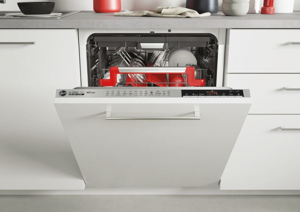 Hoover HDIN 4S613PS-80E Built In Fully Integrated Dishwasher