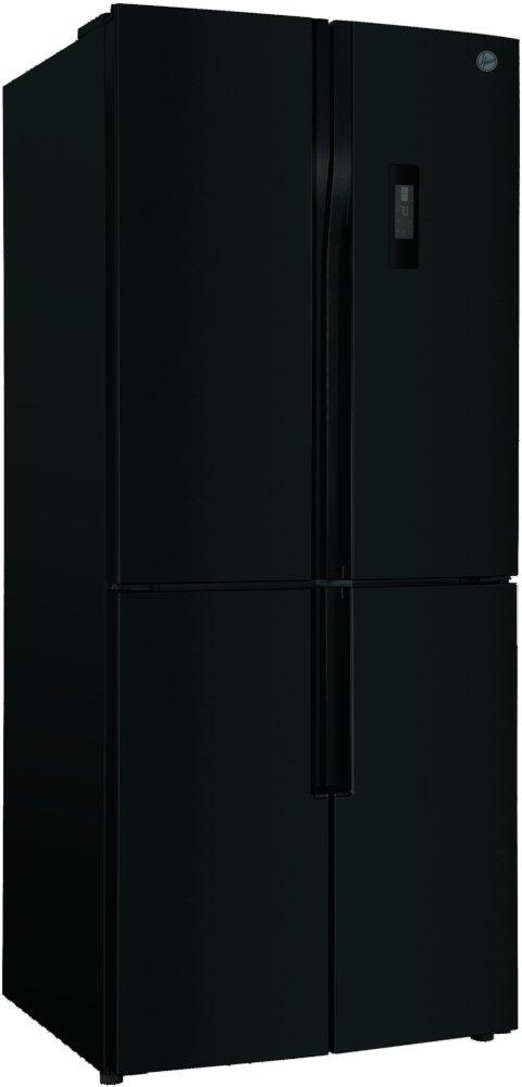 Hoover HFDN180BK Black American Fridge Freezer