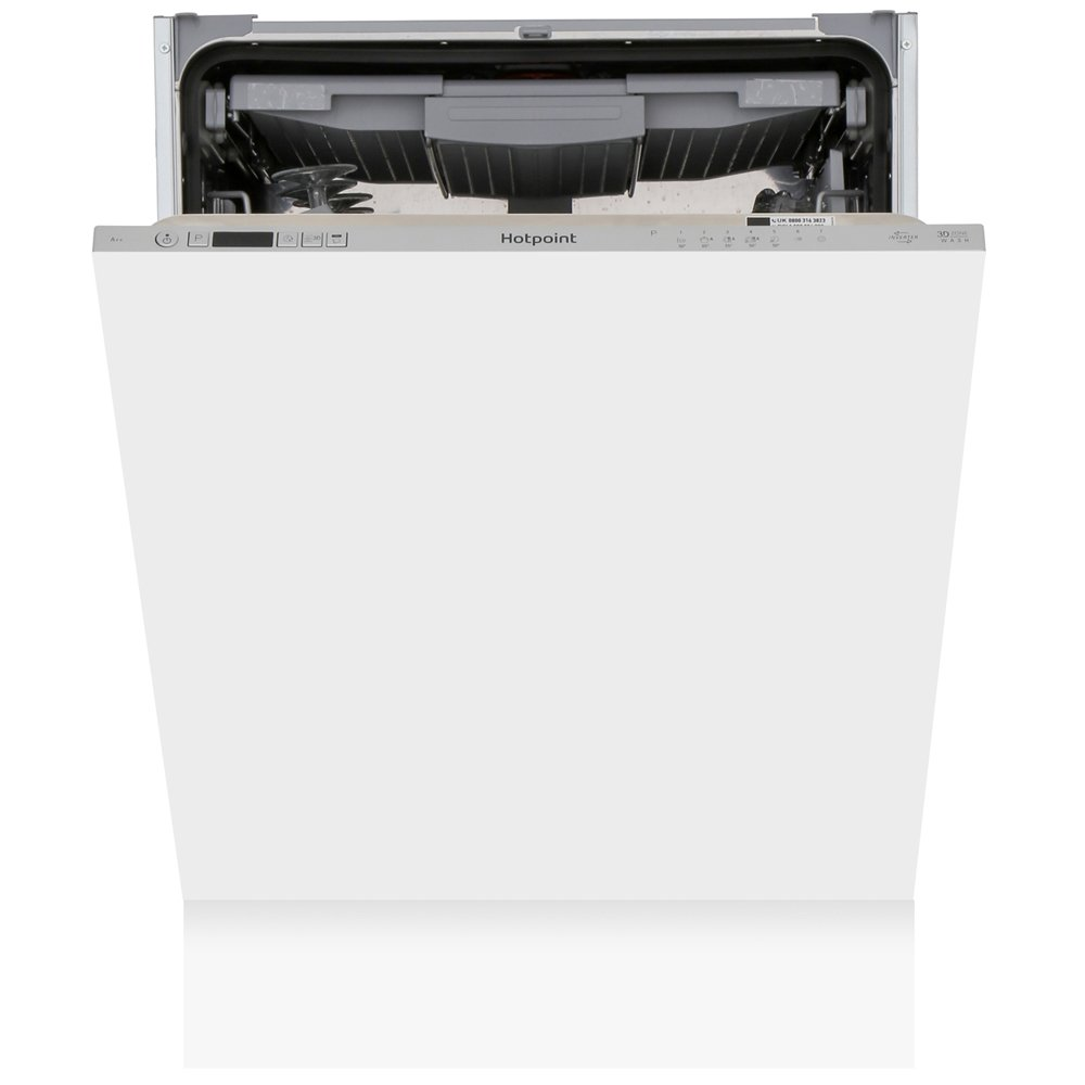 Hotpoint HIC 3C26 WF UK Built In Fully Integrated Dishwasher