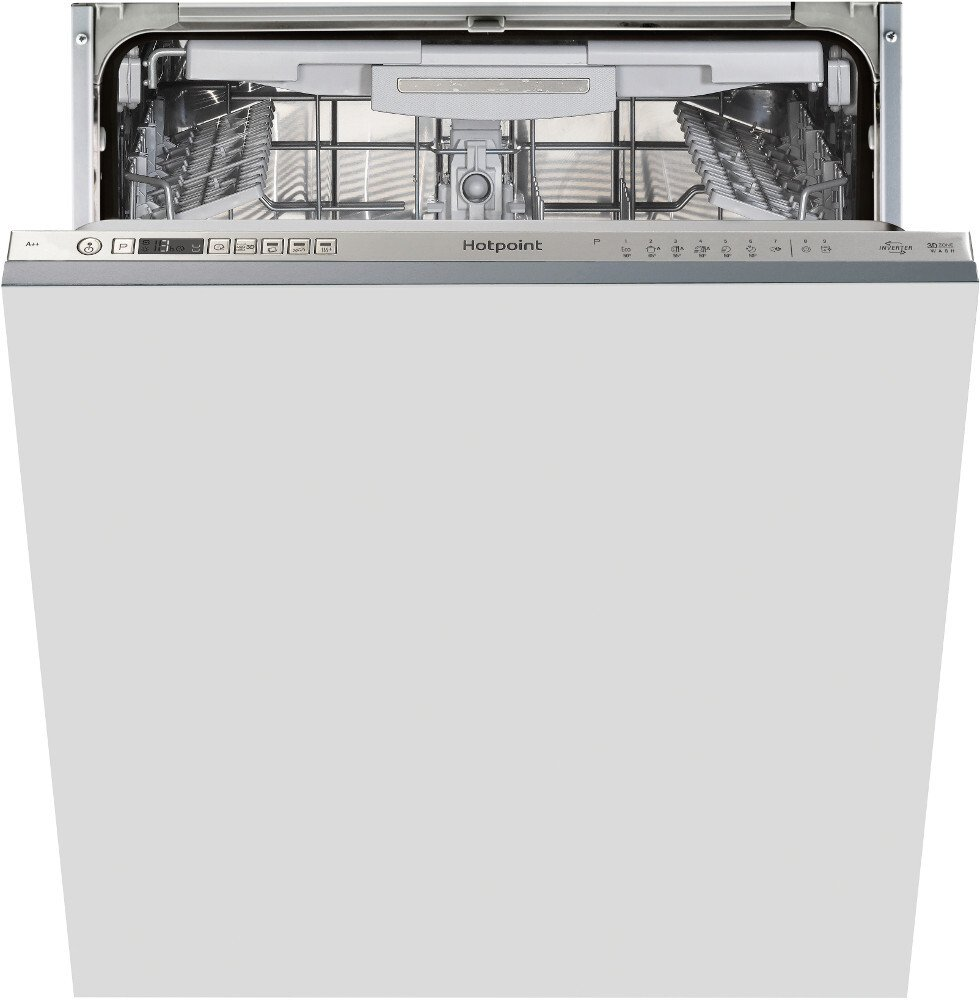 Hotpoint HIO 3P23 WL E UK Built In Fully Integrated Dishwasher