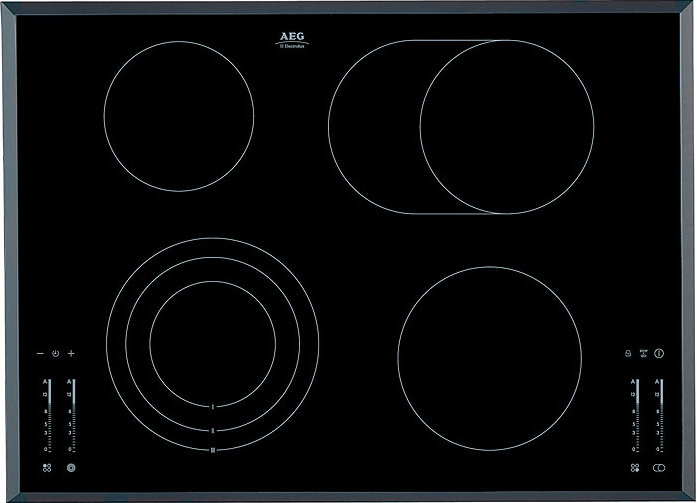 AEG HK764070FB Radiant Ceramic Hob