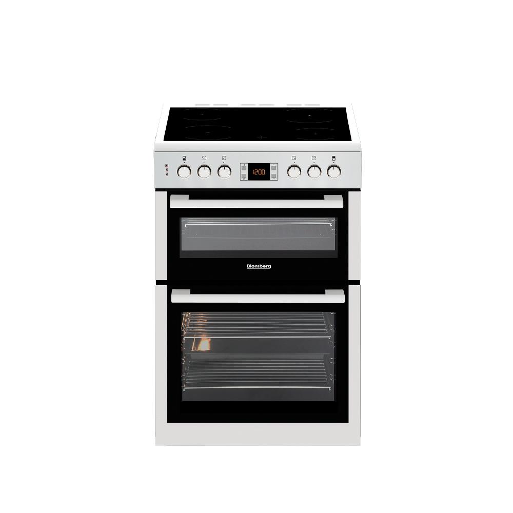 Buy Blomberg HKN63W Electric Cooker with Double Oven - Stainless ...