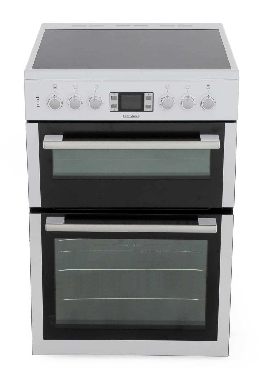 Blomberg HKN64W Ceramic Electric Cooker with Double Oven